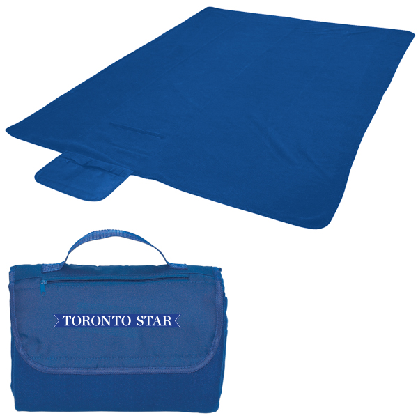 Blanket/Carry Bag, B4976, 1 Colour Imprint