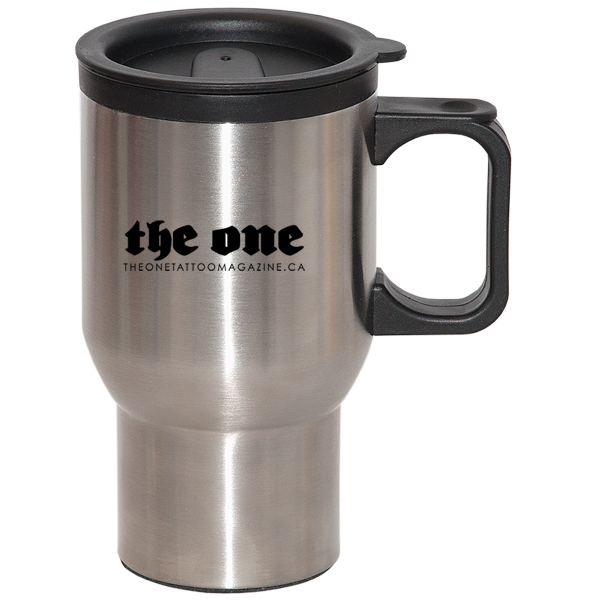 500 Ml (17 Oz.) Right-On Travel Mug, DA5569, 1 Colour Imprint