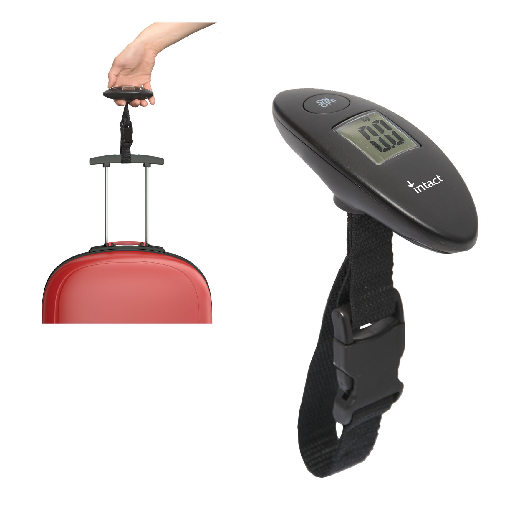 The B1 Travel Luggage Scale, TG8951, 1 Colour Imprint