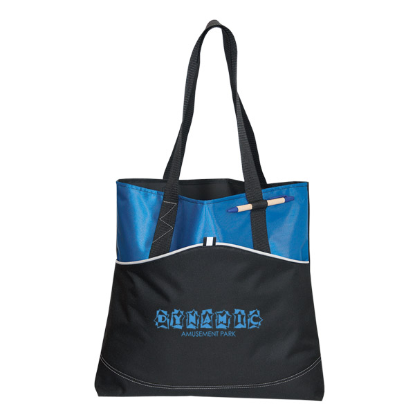 Vision Polyester Tote, TO8326, 1 Colour Imprint
