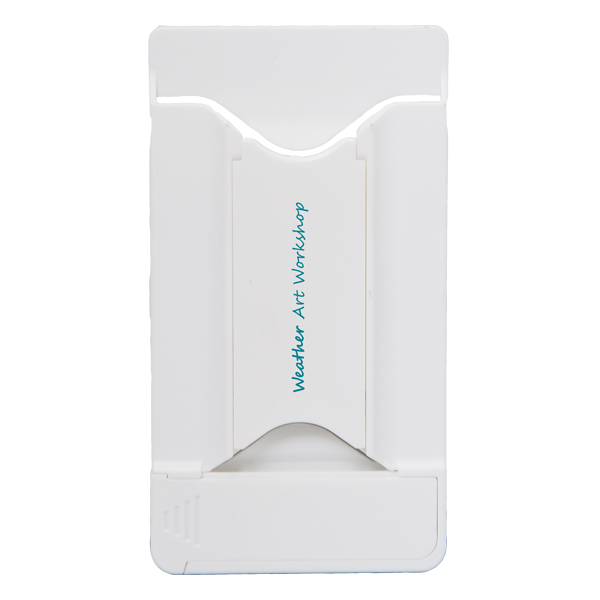 Lockdown Card Holder With Stand And Screen Cleaner, CU8882, 1 Colour Imprint