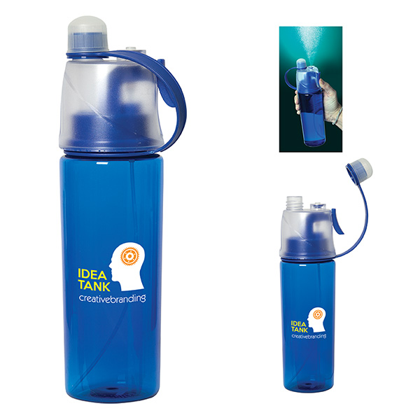 Chillax 600 Ml. (20 Fl. Oz.) Mist Bottle, WB9575, 1 Colour Imprint