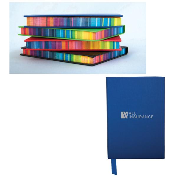 Surrealist Colour Edge Notebook, CA8816, 1 Colour Imprint