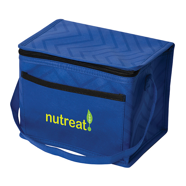 Tonal Non Woven Lunch Bag, NW9652, 1 Colour Imprint