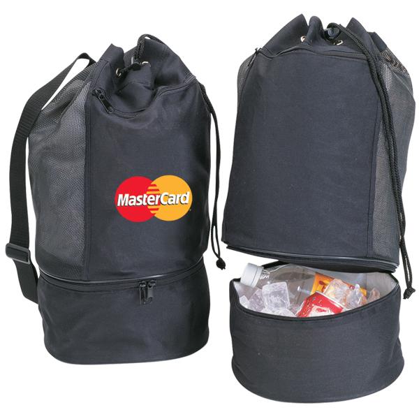 Beach Tote/Cooler Bag, CB290, 1 Colour Imprint