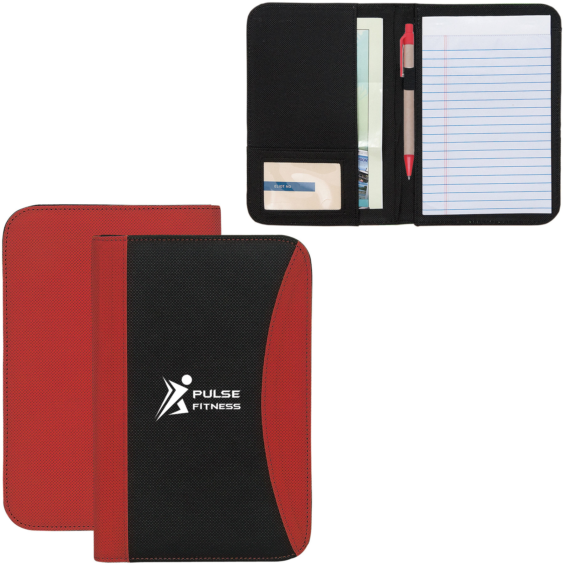 Non Woven Junior Padfolio, NW4030, 1 Colour Imprint