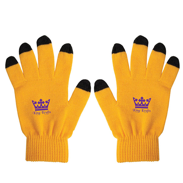 Touch Screen Gloves, CU6356, 1 Colour Imprint