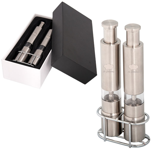Salt And Pepper Mill Set, KP6700, 1 Colour Imprint