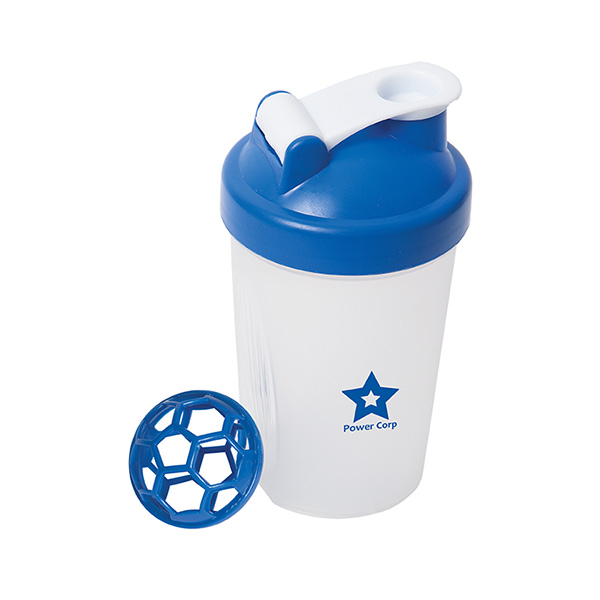 The Cross-Trainer 400 Ml. (13.5 Fl. Oz.) Small Shaker Bottle, WB6785, 1 Colour Imprint