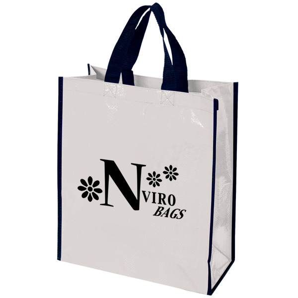 Woven Tote Bag, TO4258, 1 Colour Imprint