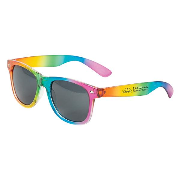 Sandy Banks Rainbow Sunglasses, SG9642, 1 Colour Imprint