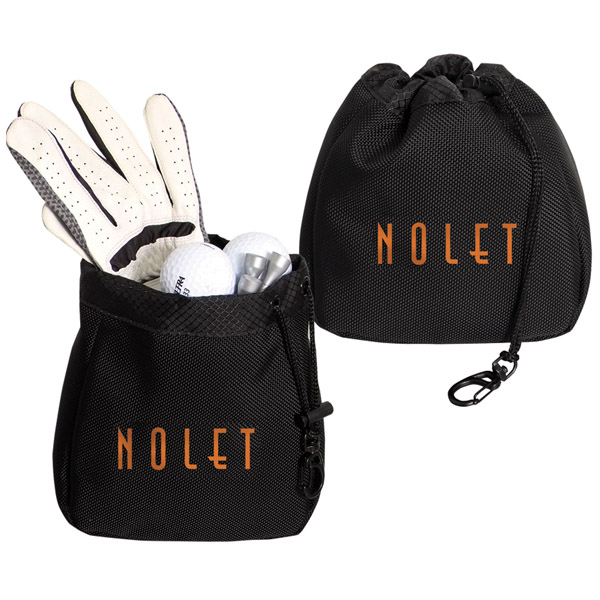 Golf Accessory Bag, P3664, 1 Colour Imprint