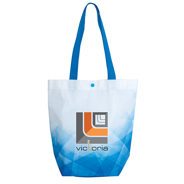 Roxbury Laminated Tote, TO9522, 1 Colour Imprint