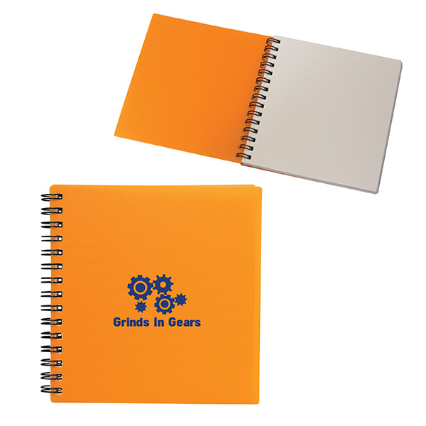 Even Writer Square Notebook, CA6540, 1 Colour Imprint