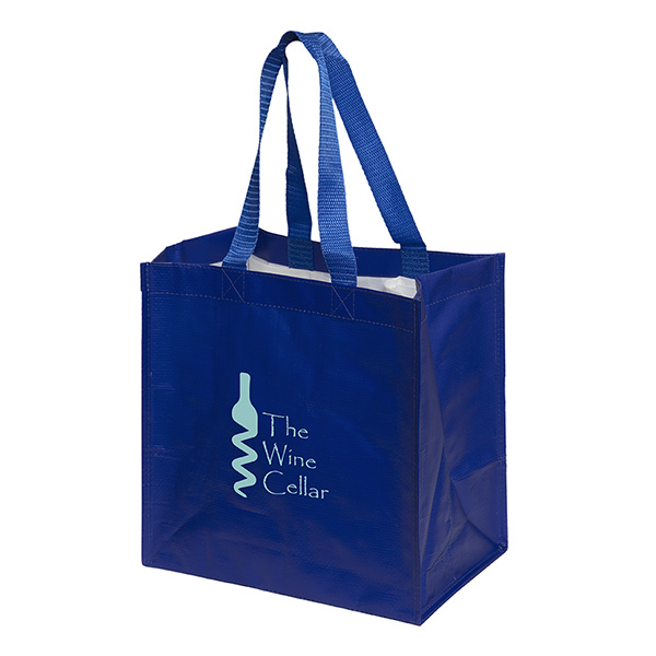 Bring 'er Tote Bag With Bottle Compartments, TO9222, 1 Colour Imprint