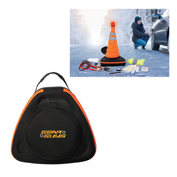 Flashing Beacon Emergency Car Kit, GP9510, 1 Colour Imprint