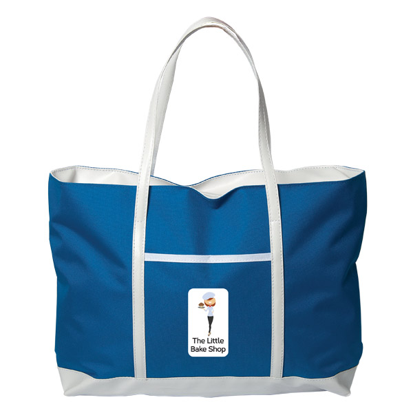 Sacramento Tote Bag, TO8713, 1 Colour Imprint