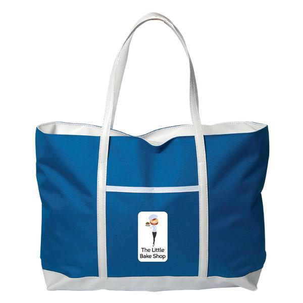Sacramento Tote Bag, TO8713, 1 Colour Imprint