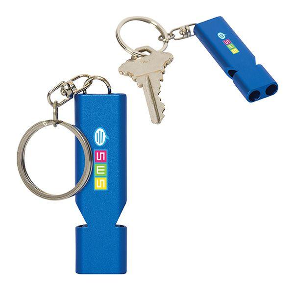 Patrol Key Chain Whistle, KC9440, 1 Colour Imprint