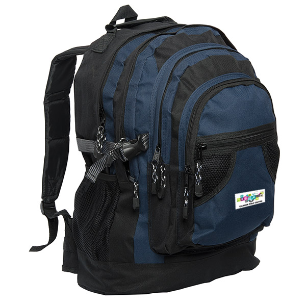 Commuter Backpack, P2423, 1 Colour Imprint