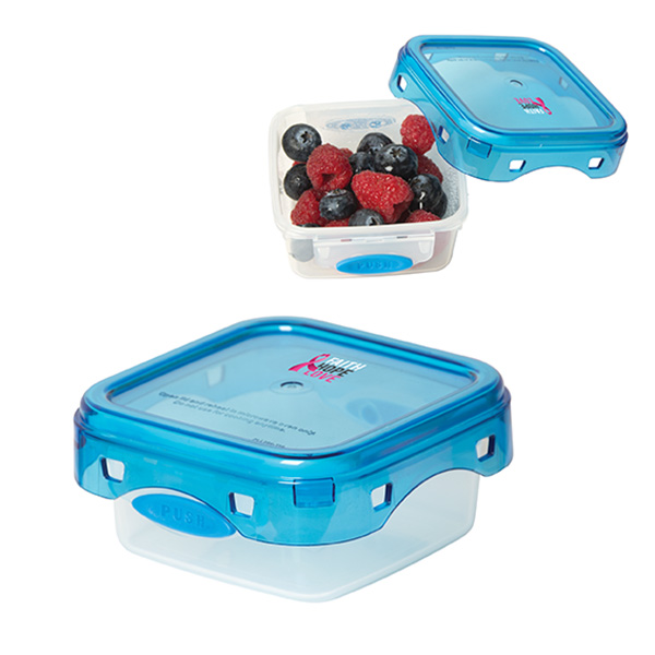 Gilpin Snack Container, KP9259, 1 Colour Imprint