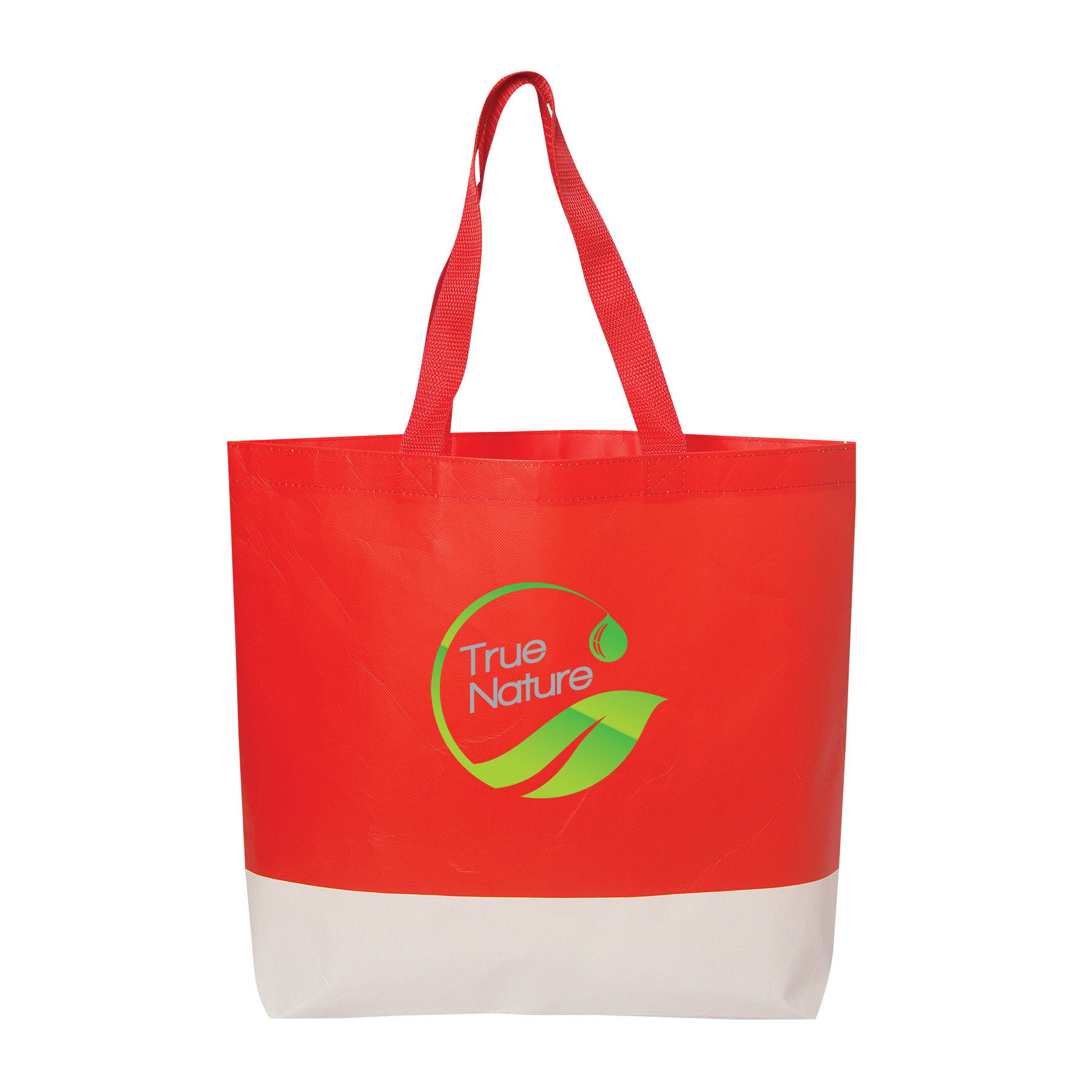 Hennepin Laminated Tote, TO9399, 1 Colour Imprint