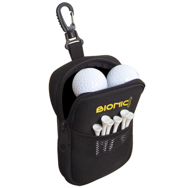 Neoprene Golf Accessories Pouch, G4053, 1 Colour Imprint