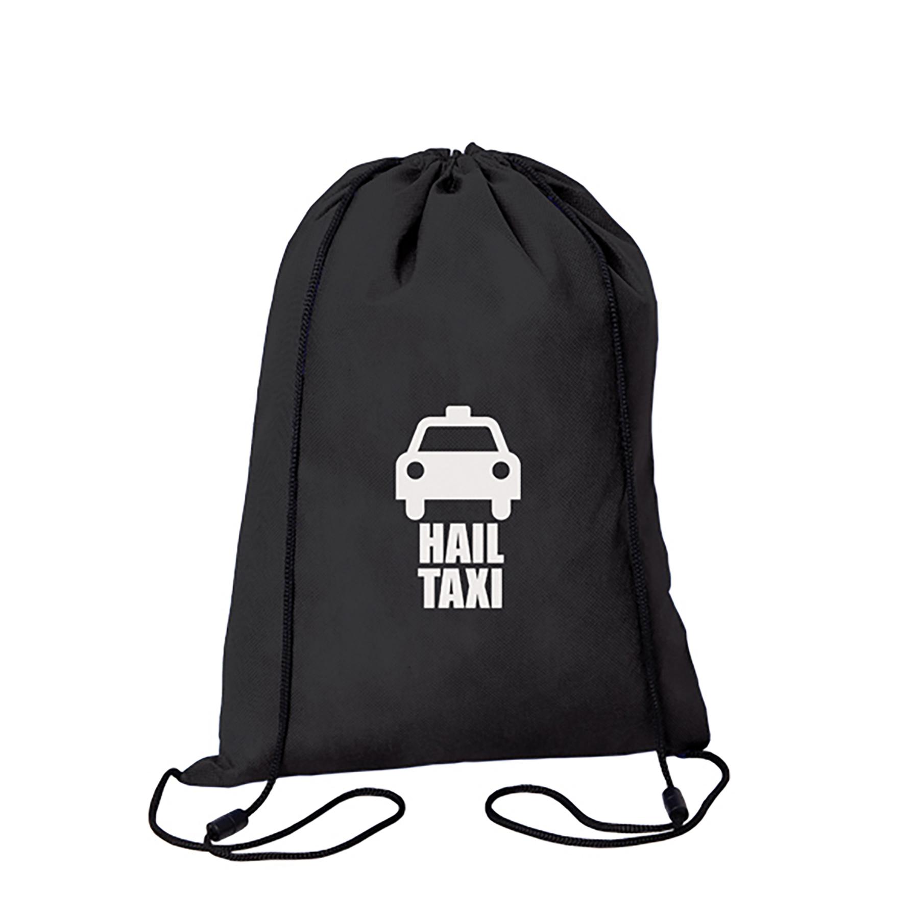 Small Fry Non Woven Drawstring Bag, NW1190, 1 Colour Imprint
