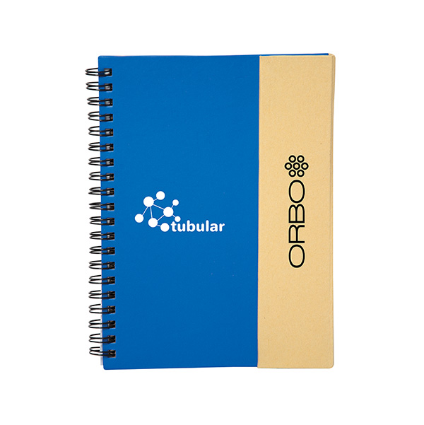 Polar Star Spiral Journal With 175 Sticky Notes, CA9414, 1 Colour Imprint