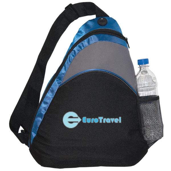 Cobalt Sling Backpack, KN7238, 1 Colour Imprint