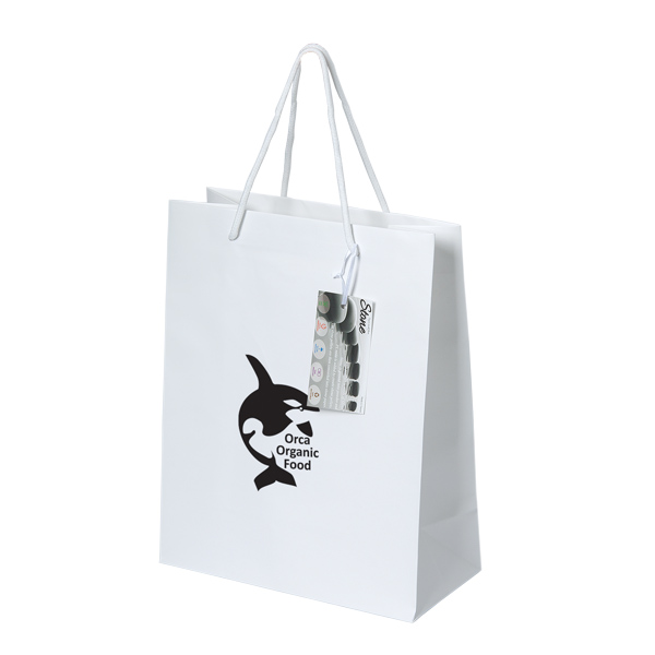 Stone Paper Tote, TO7417, 1 Colour Imprint