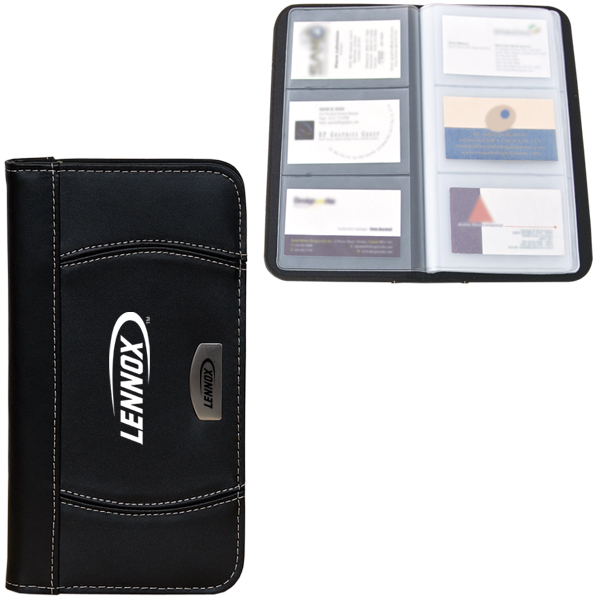Business Card Holder, BL3264, 1 Colour Imprint