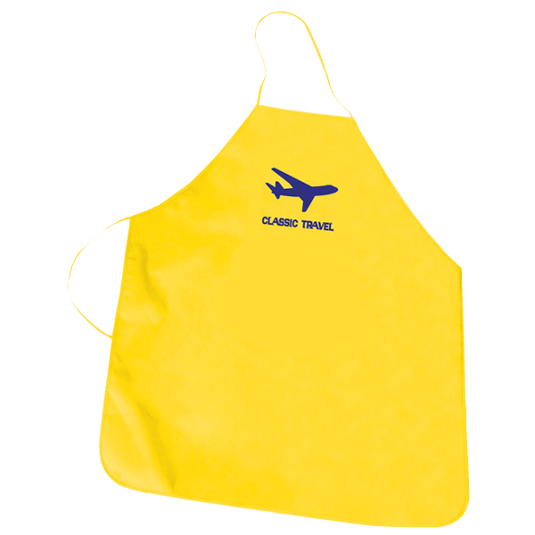 Non Woven Promotional Apron, NW4477, 1 Colour Imprint