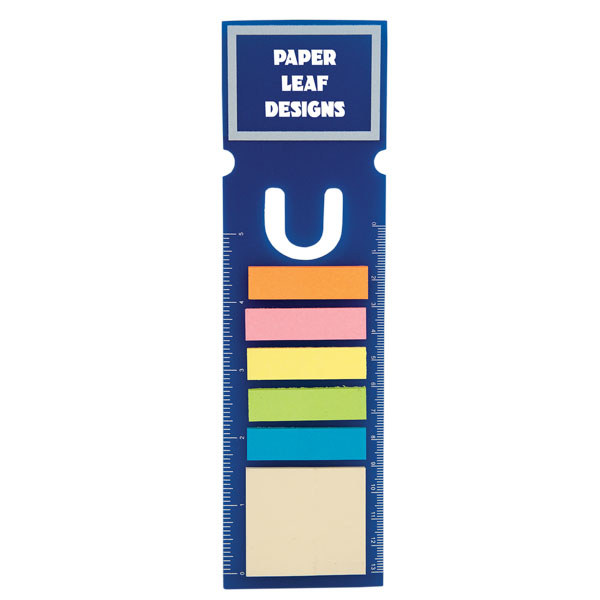 Rectangle Book Mark With 150 Sticky Notes, DA8427, 1 Colour Imprint