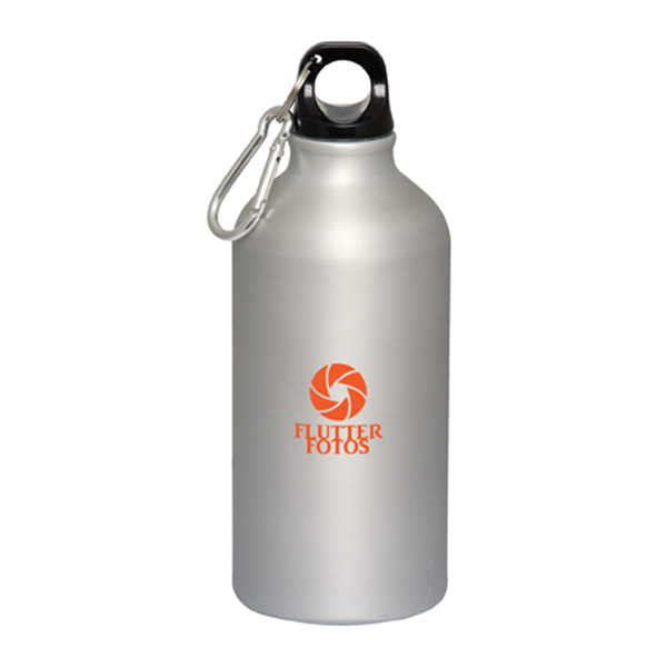 Duhrbray 500 Ml. (17 Fl. Oz.) Matte Finish Aluminum Bottle, WB9107, 1 Colour Imprint