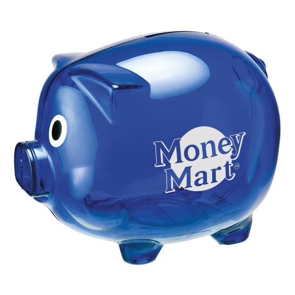 Savings Bank - Piggy Bank, 462-K, One Colour Imprint
