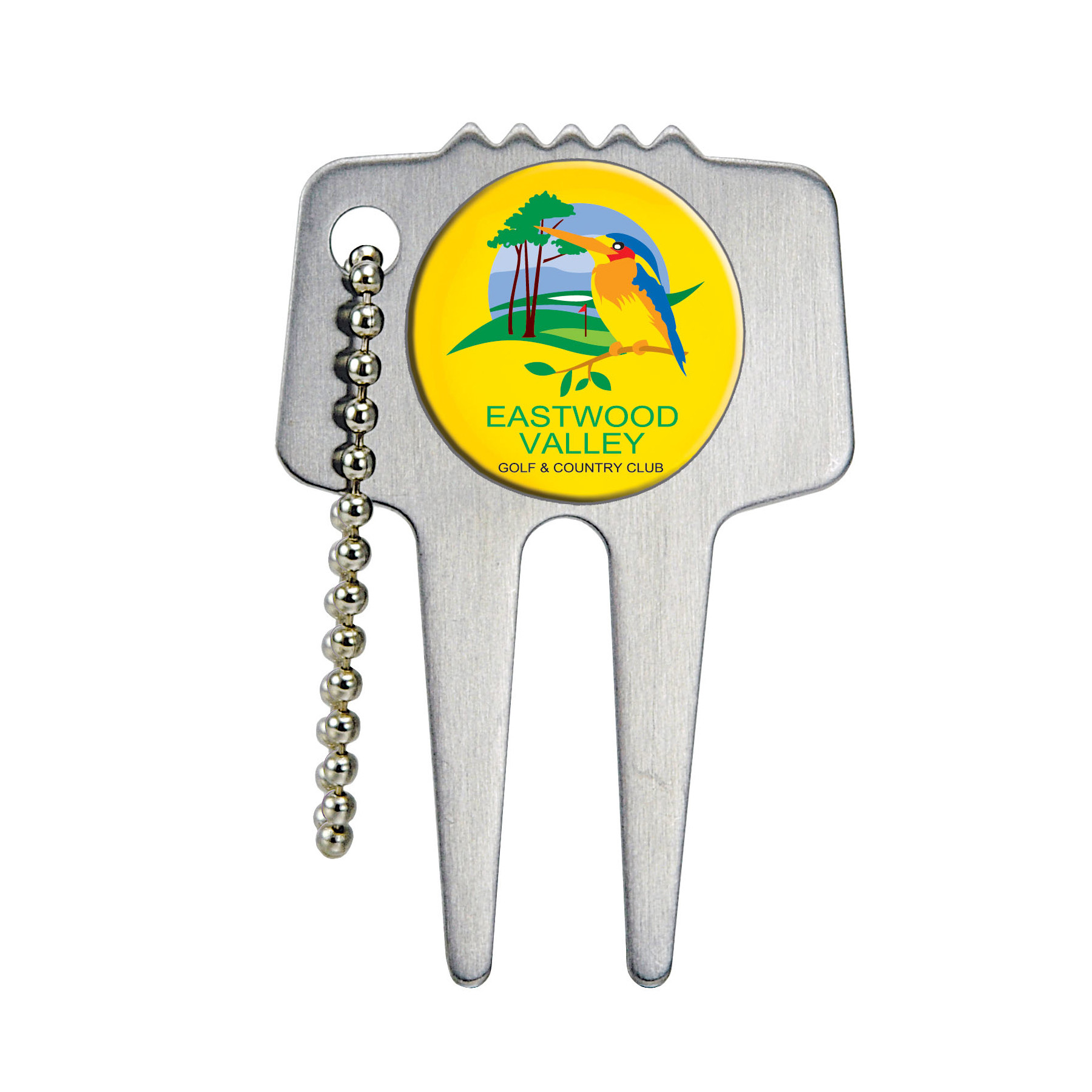 Domed Divot Repair Tool, 644-K, Full Colour Imprint
