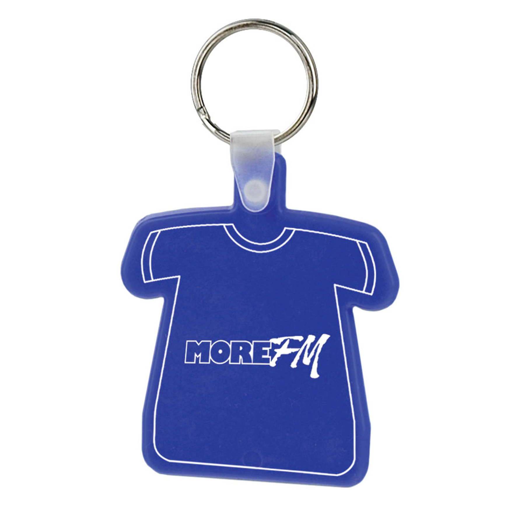 Soft Squeezable Key Tag (T-Shirt), 2146-K, One Colour Imprint