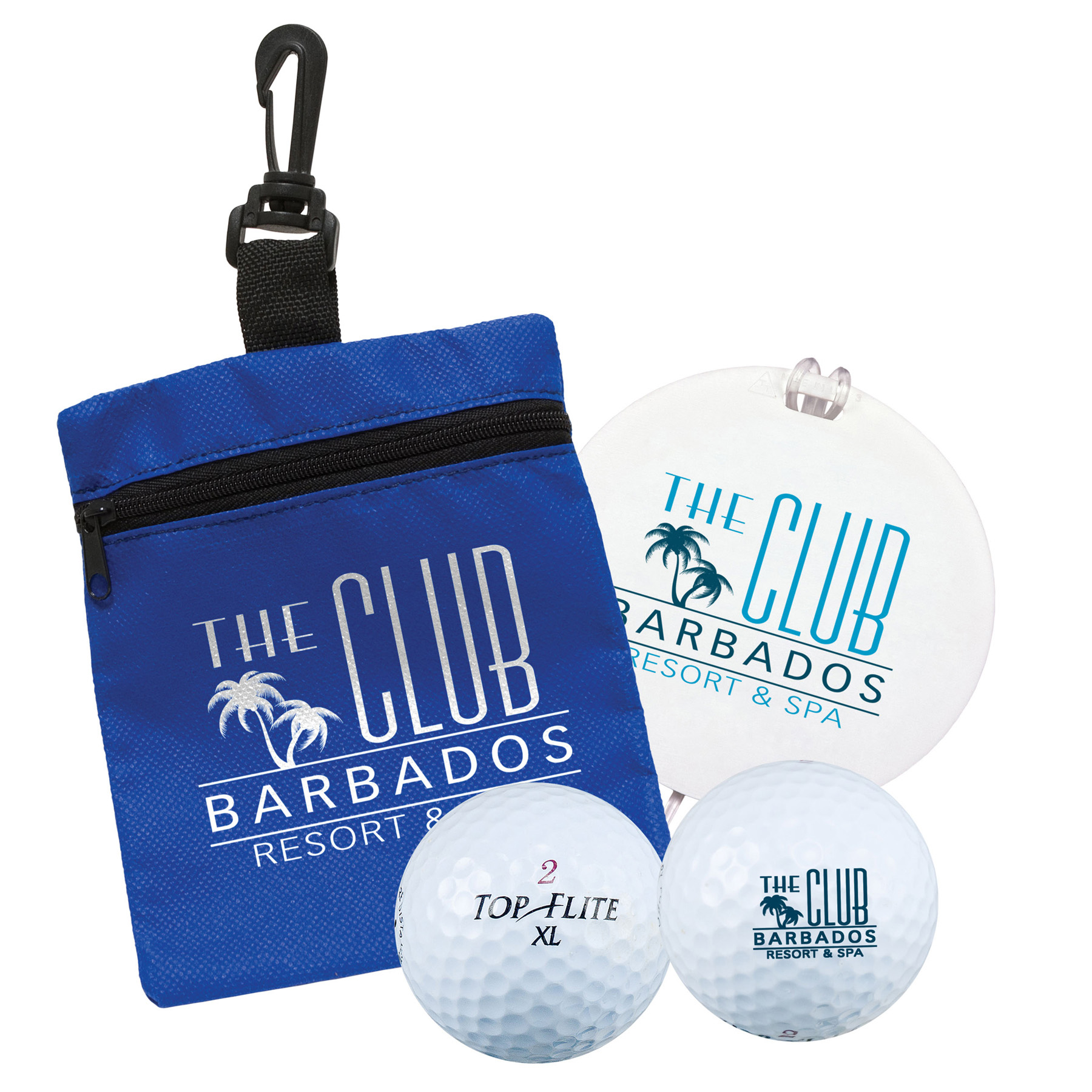 Golf Tag-in-a-Bag Gift Set, 664-K, One Colour Imprint