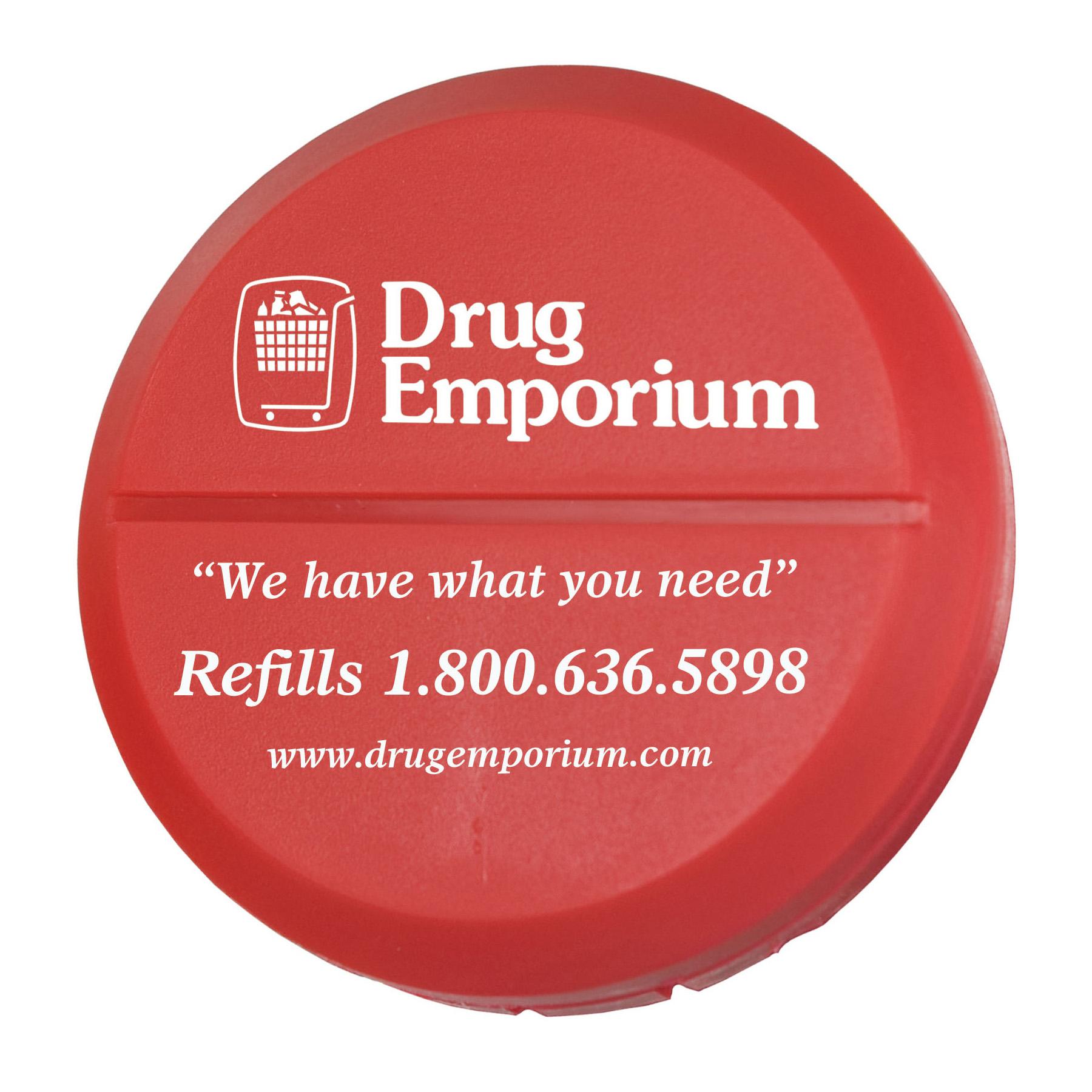 Round Pill Cutter, 623-K, One Colour Imprint