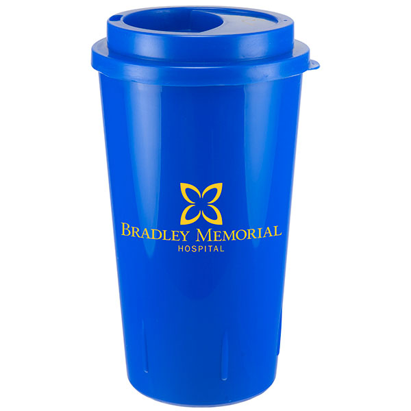 16 Oz. Cypress Double Walled Tumbler, 349-K, One Colour Imprint