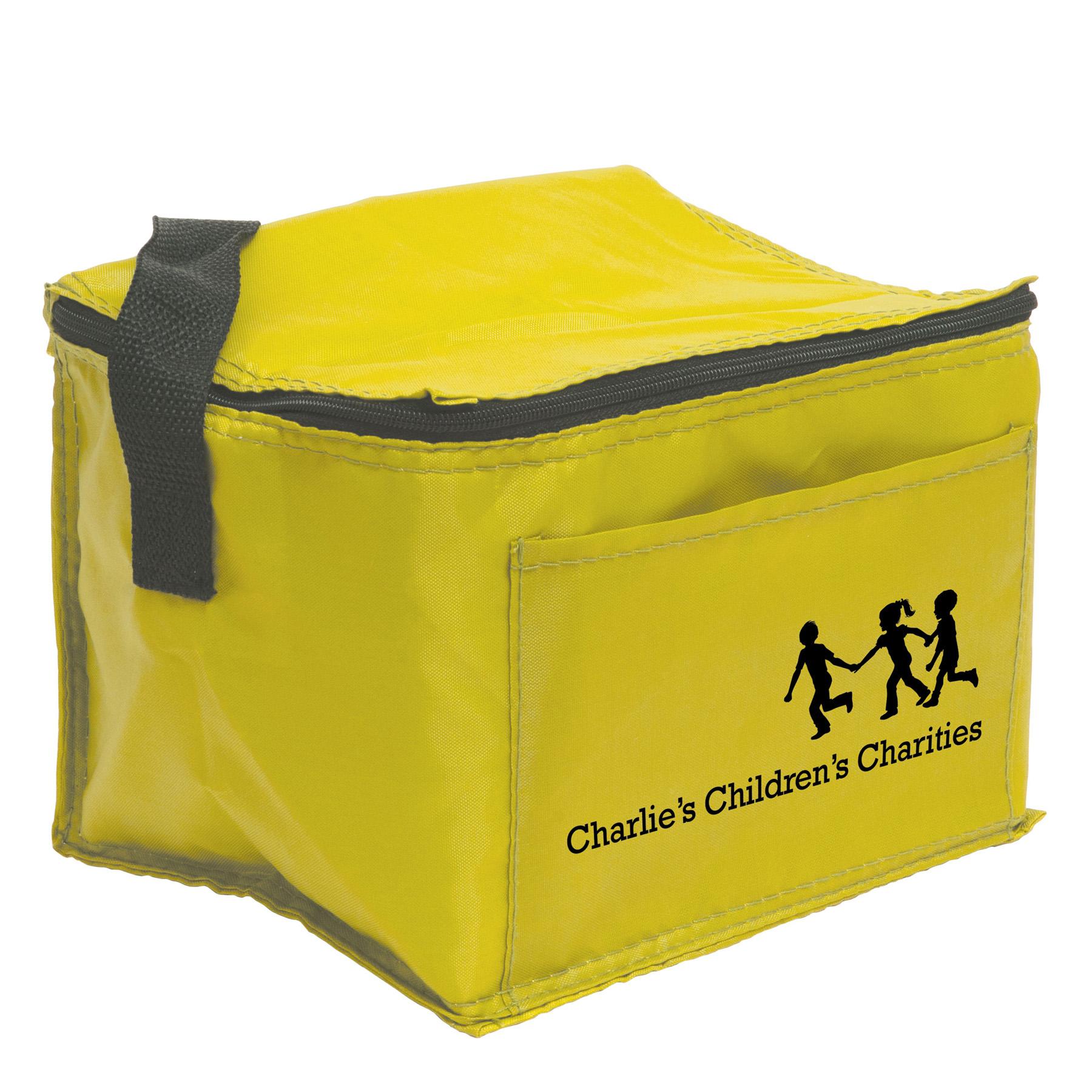6 Pack Cooler Bag, 422-K, One Colour Imprint