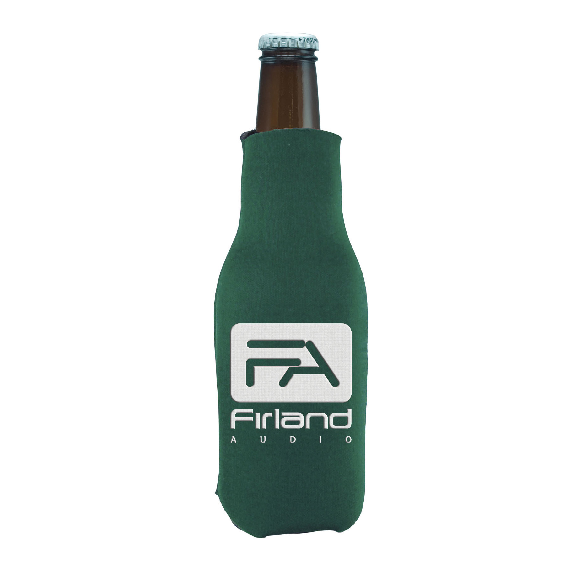Pull Over Bottle Cooler, 440-K, One Colour Imprint