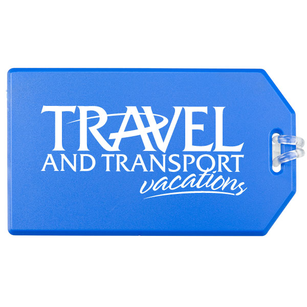 Standard Luggage Tag, 516-K, One Colour Imprint