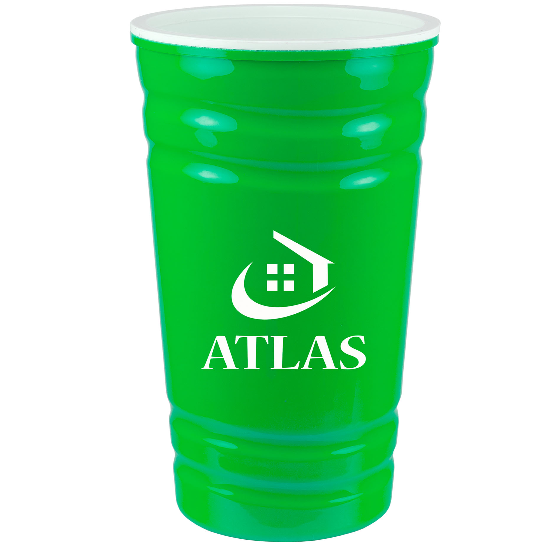 16 Oz. Fiesta Cup, 467-K, One Colour Imprint