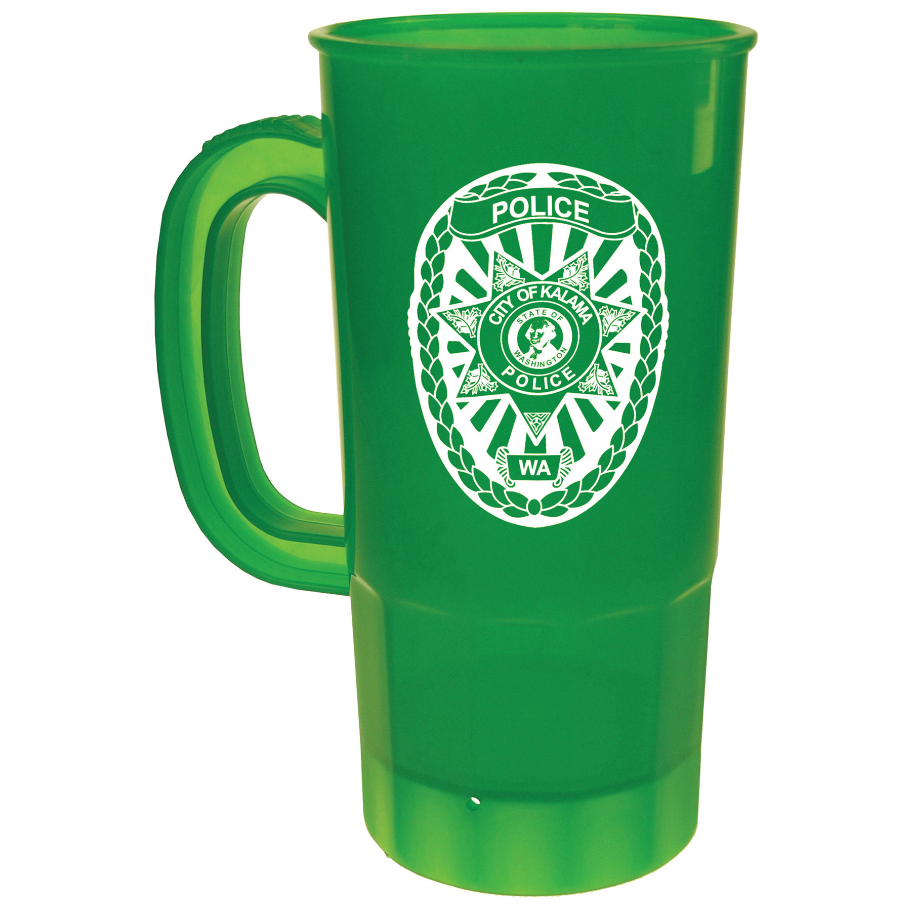22 Oz. Stein Mug, 203-K, One Colour Imprint
