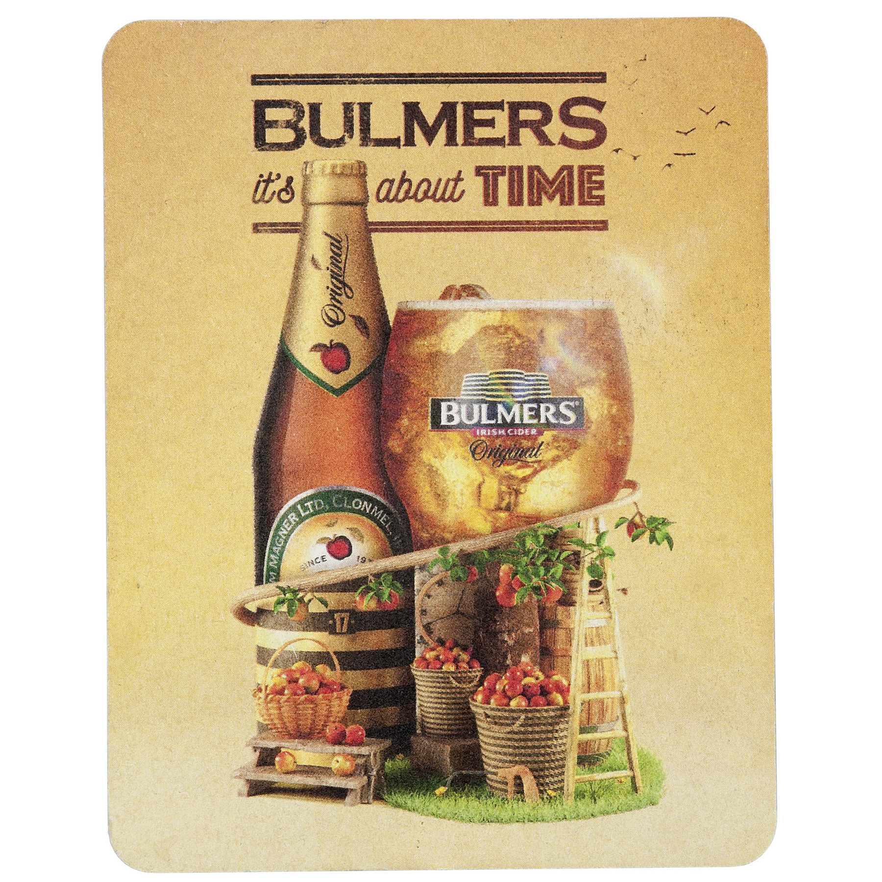 Full Color Process 60 Point Rectangle Pulp Board Coaster, 799-K, Full Colour Imprint