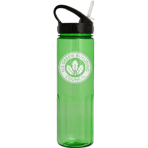 24 Oz. Prestige Bottle (Sport Sip Lid and Straw), 0321S-K, One Colour Imprint