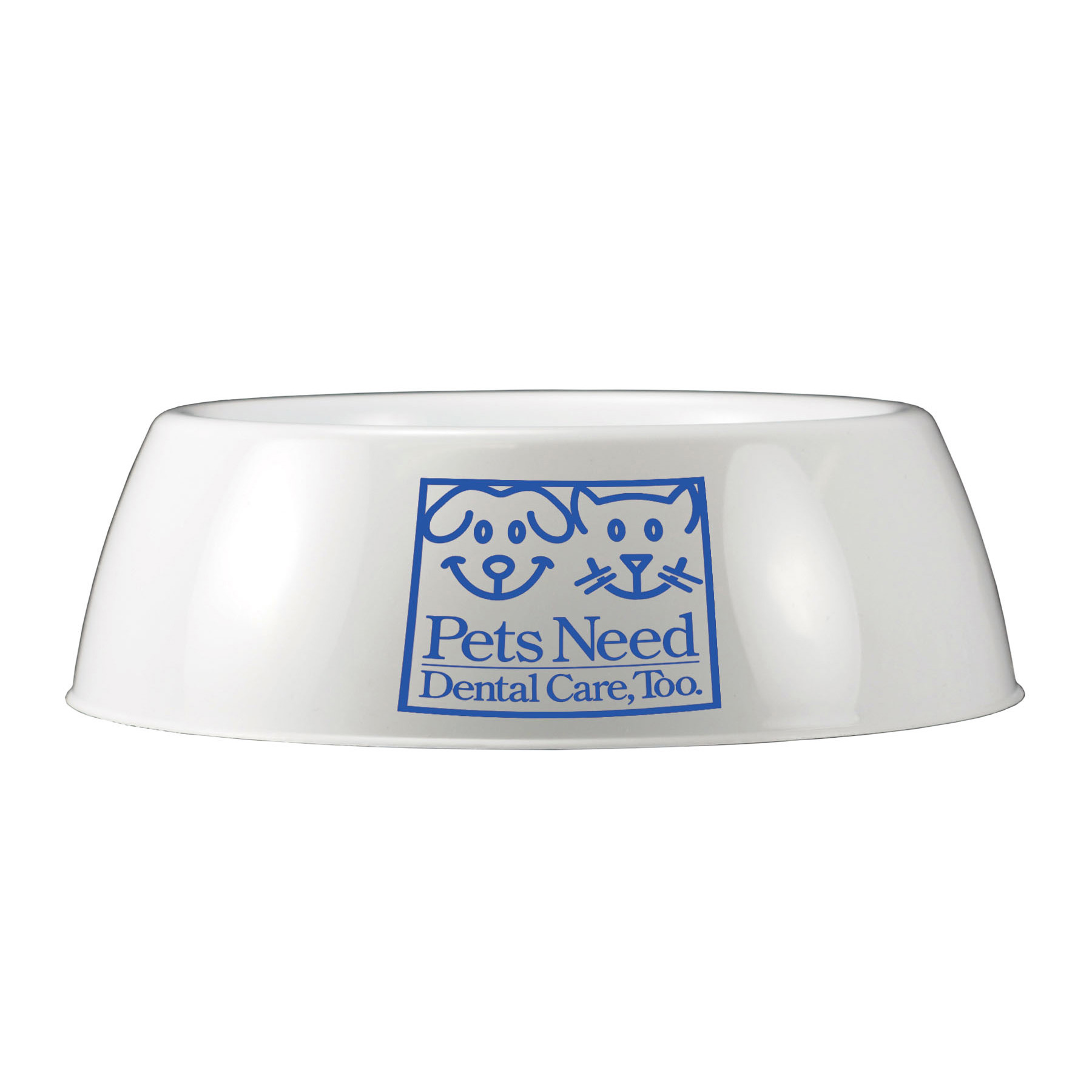 Dog Food Bowl, 900-K, One Colour Imprint