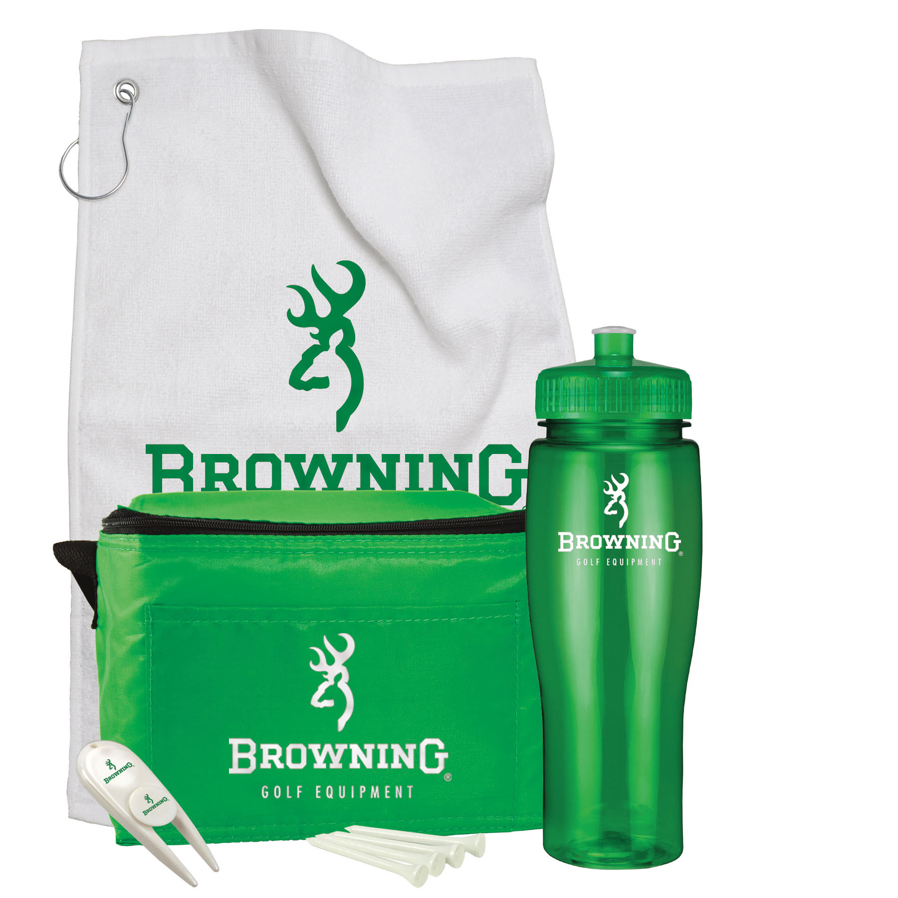 Contour Bottle Golf Gift Set, 658-K, One Colour Imprint
